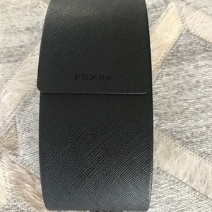 New authentic Prada sunglass case
